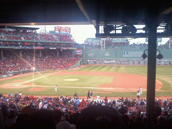 Fenway Park, section: Grandstand 15, row: 16, seat: 7