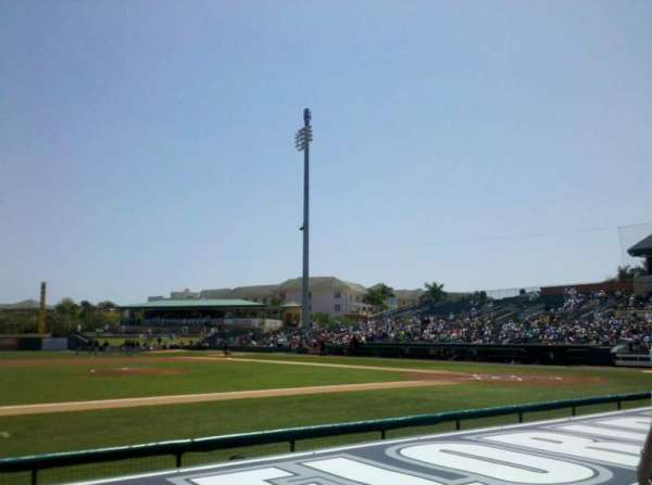 Roger Dean Stadium, section: 119, row: 5, seat: 5