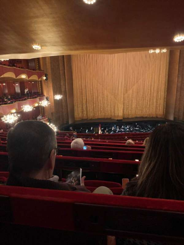 Metropolitan Opera House - Lincoln Center, section: Grand Tier, row: G, seat: 119