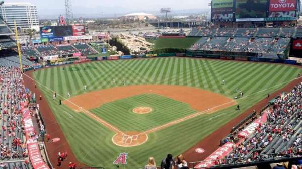 Angel Stadium, section: V522, row: B, seat: 10