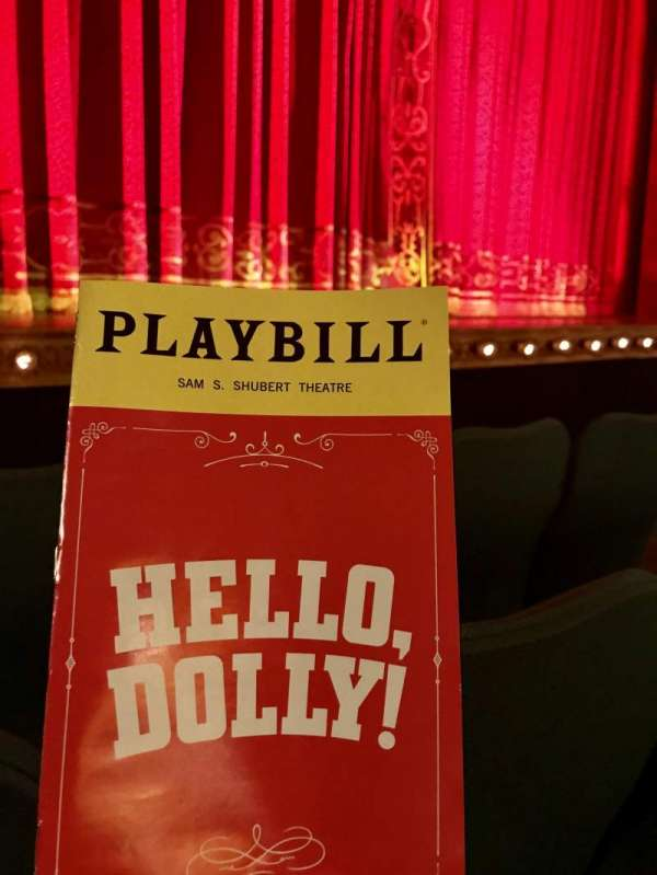 Shubert Theatre, section: Orchestra L, row: D, seat: 9