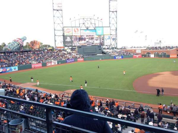 Oracle Park, section: 223, row: A, seat: 11