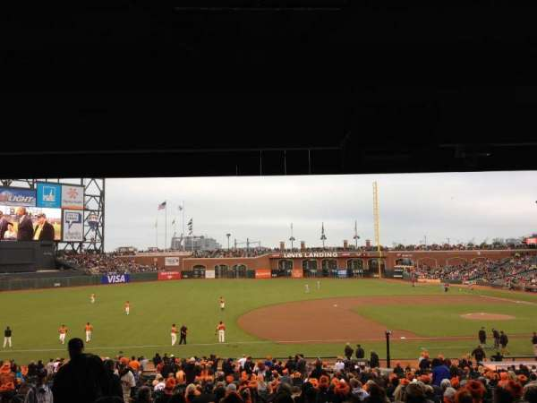 Oracle Park, section: LB 125, row: 38, seat: 3