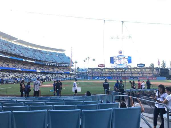 Dodger Stadium, section: 12fd, row: A, seat: 3