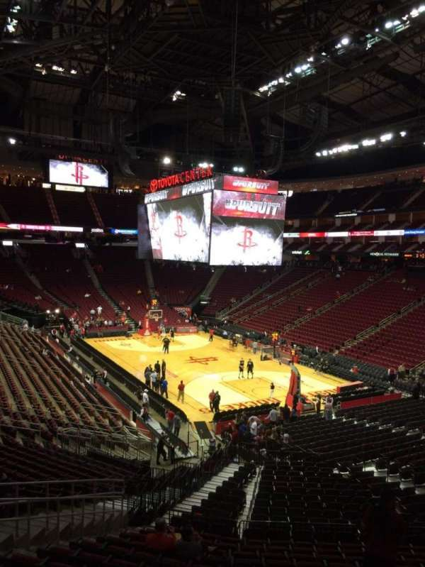 Toyota Center, section: 102, row: 29, seat: 18