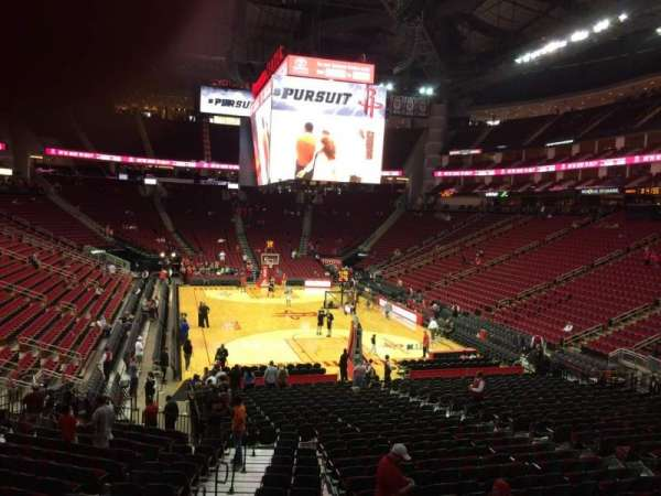 Toyota Center, section: 101, row: 22, seat: 19
