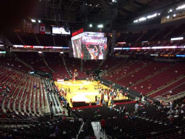 Toyota Center, section: 115, row: 31, seat: 1