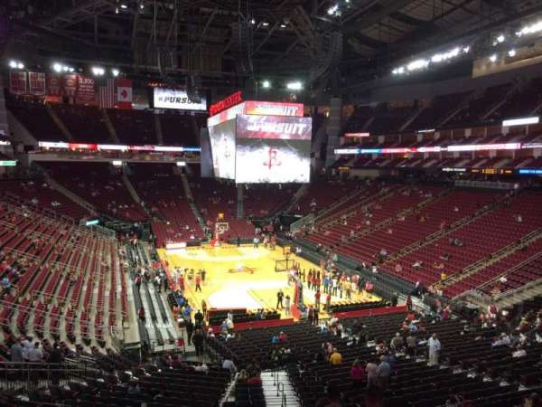Toyota Center, section: 115, row: 30, seat: 1