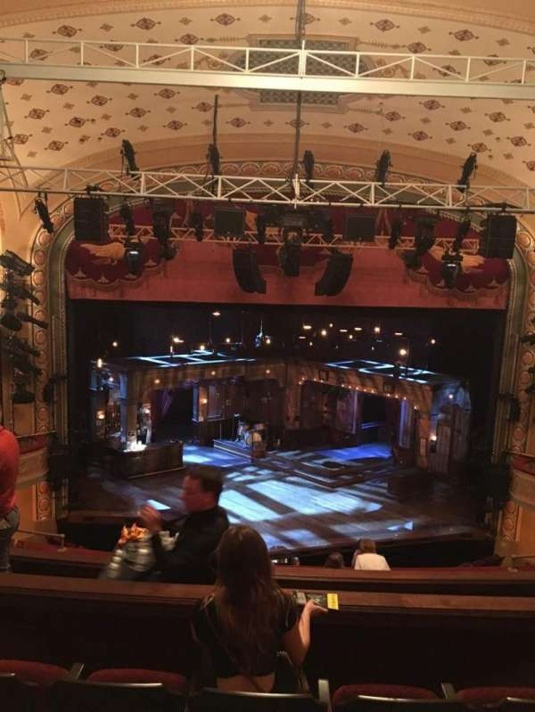 Bernard B. Jacobs Theatre, section: Mezzanine C, row: H, seat: 108