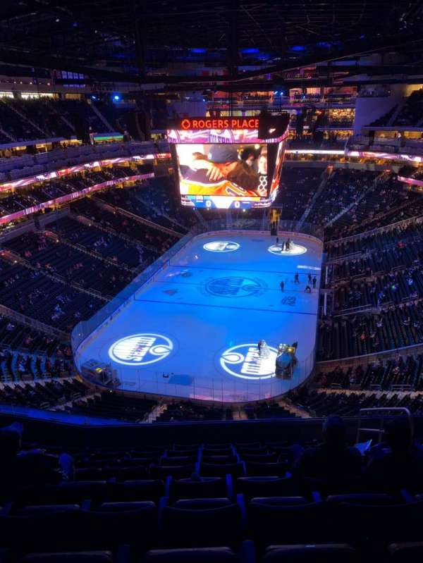 Rogers Place, section: 210, row: 9, seat: 4