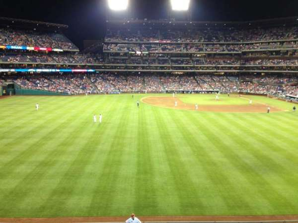 Citizens Bank Park, section: 244, row: 1, seat: 8