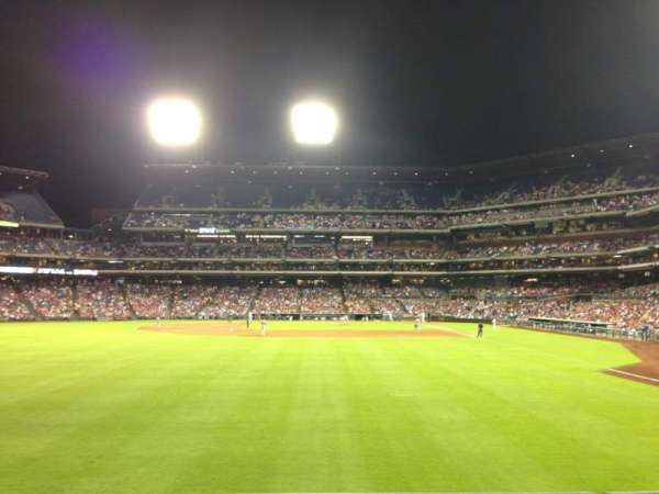 Citizens Bank Park, section: 142, row: 2, seat: 16