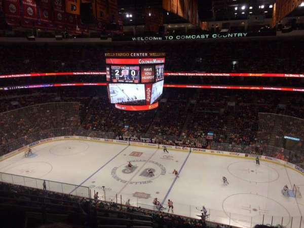 Wells Fargo Center, section: 215, row: 10, seat: 5