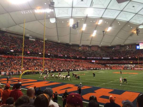 Carrier Dome, section: 122, row: G, seat: 16