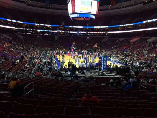 Wells Fargo Center, section: 118, row: 17, seat: 6