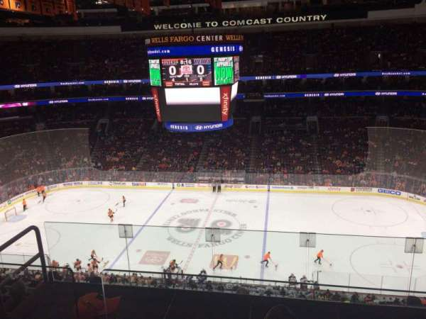 Wells Fargo Center, section: 202, row: 7, seat: 6