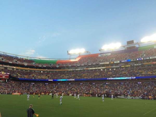 FedEx Field, section: 118, row: 1, seat: 14