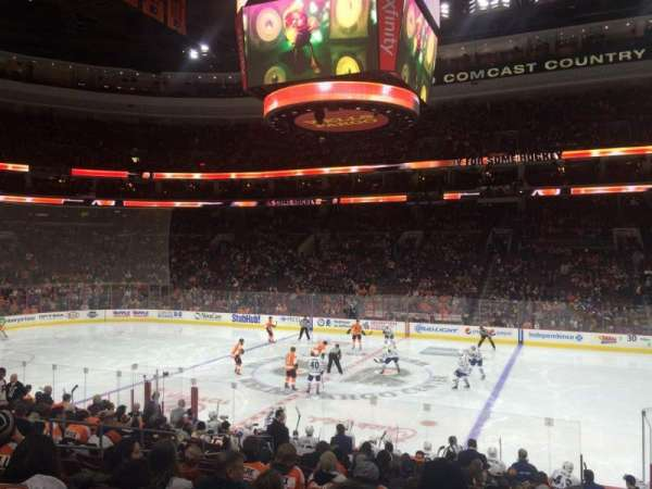 Wells Fargo Center, section: 102, row: 17, seat: 12