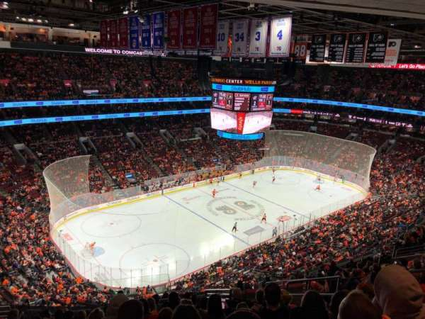 Wells Fargo Center, section: 210, row: 15, seat: 12