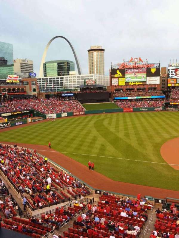 Busch Stadium, section: 257, row: 1, seat: 20