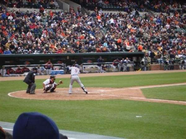 Oriole Park at Camden Yards, section: 20, row: 8