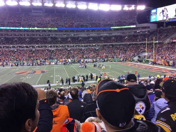 Paul Brown Stadium, section: 139, row: 27, seat: 20