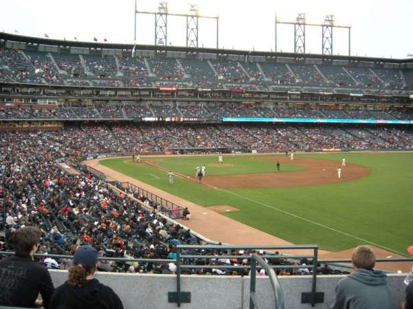 AT&T Park, section: 151, row: 3, seat: 2