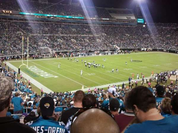 TIAA Bank Field, section: 243, row: K, seat: 12