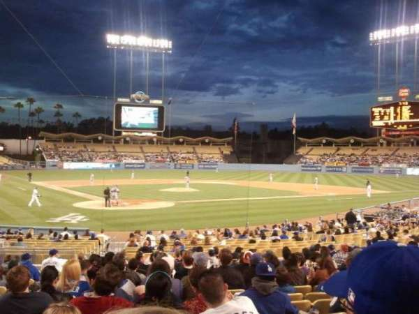 Dodger Stadium, section: 6FD, row: R, seat: 3