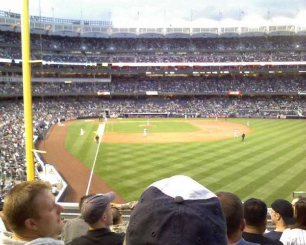 Yankee Stadium, section: 207, row: 6, seat: 4
