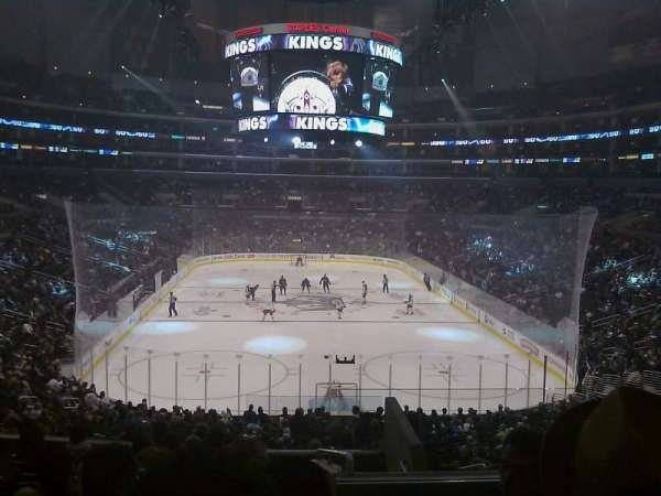 Staples Center, section: 217, row: 10, seat: 6