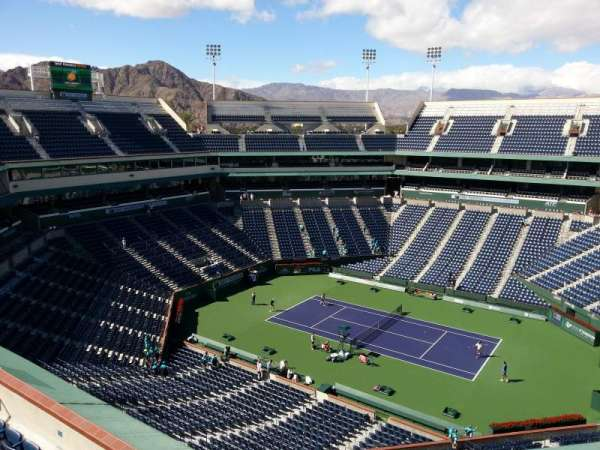 Indian Wells Tennis Garden, section: Top Level, row: Concourse
