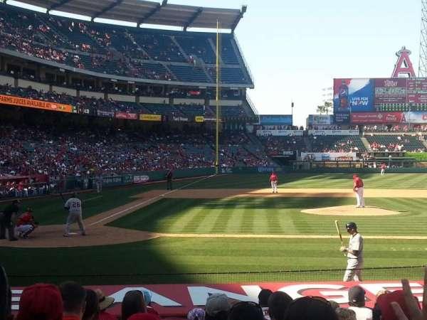 Angel Stadium, section: F123, row: H, seat: 2