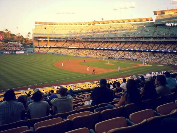 Dodger Stadium, section: 151LG, row: L, seat: 7