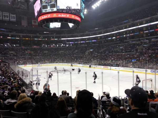 Staples Center, section: 108, row: 14, seat: 2