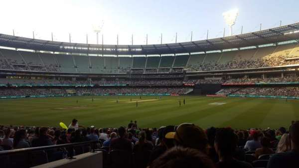 Melbourne Cricket Ground, section: 13, row: U, seat: GA