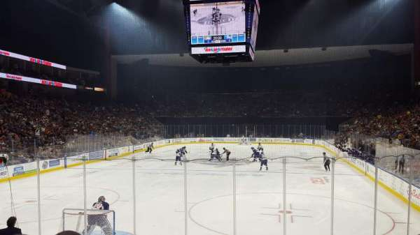 VyStar Veterans Memorial Arena, section: 108, row: K, seat: 4