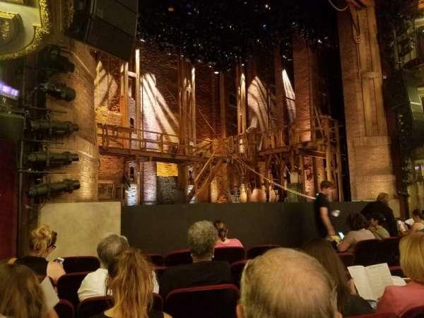 CIBC Theatre, section: L Orchestra, row: G, seat: 15