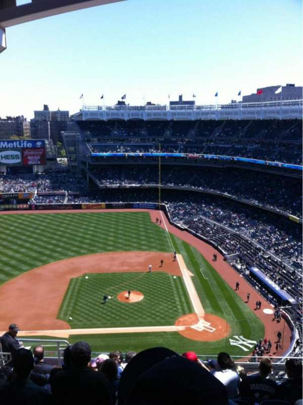 Yankee Stadium, section: 423, row: 11, seat: 20