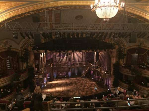 Richard Rodgers Theatre, section: Rear Mezzanine C, row: C, seat: 114