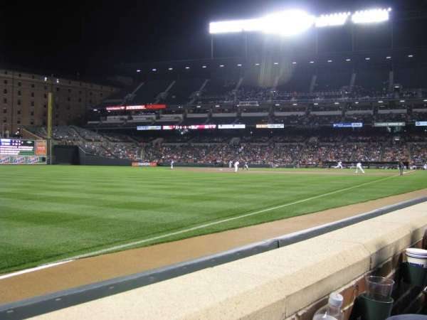 Oriole Park at Camden Yards, section: 68, row: 1, seat: 14