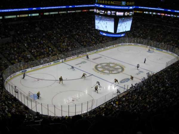 TD Garden, section: Bal 305, row: 14, seat: 15