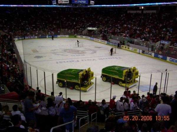 PNC Arena, section: 113, row: V