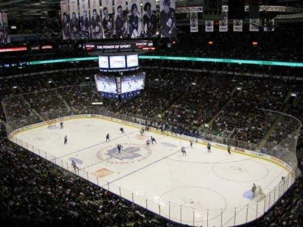 Scotiabank Arena, section: 306, row: 12