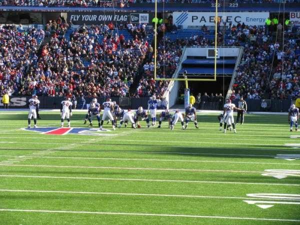 New Era Field, section: 143, row: 5