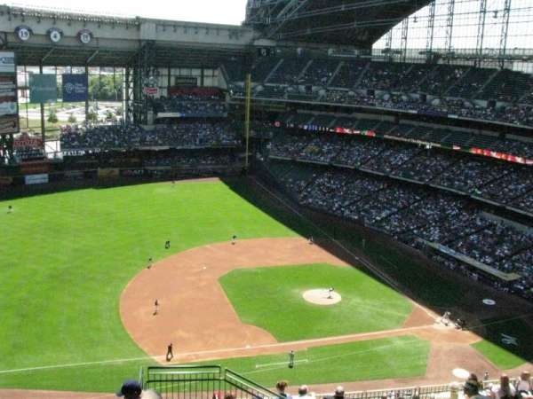 Miller Park, section: 430, row: 8, seat: 19
