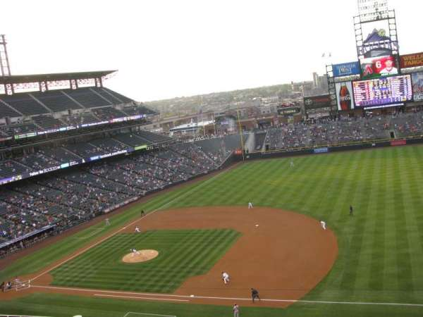 Coors Field, section: L319, row: 2, seat: 12
