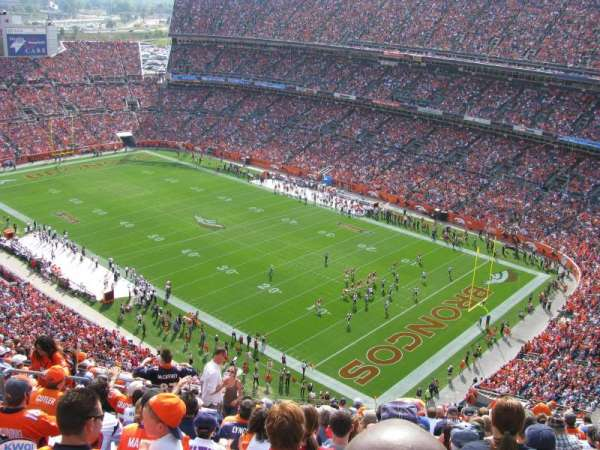 Empower Field at Mile High Stadium, section: 527, row: 18, seat: 19