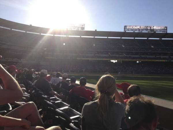 Angel Stadium, section: 131, row: C, seat: 16