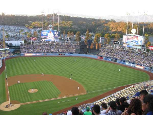 Dodger Stadium, section: 10TD, row: M, seat: 2